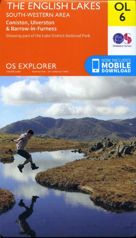 OS Explorer OL 06 The English Lakes - South Western Area